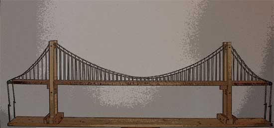 comment realiser une maquette de pont. Black Bedroom Furniture Sets. Home Design Ideas